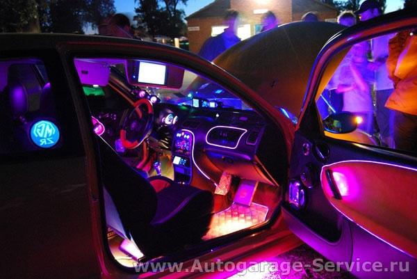 Светодиодная подсветка на автомобиль своими руками